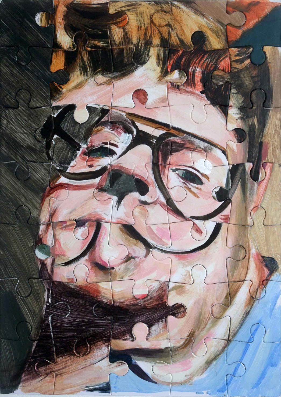 Darren Coffield Self-portrait