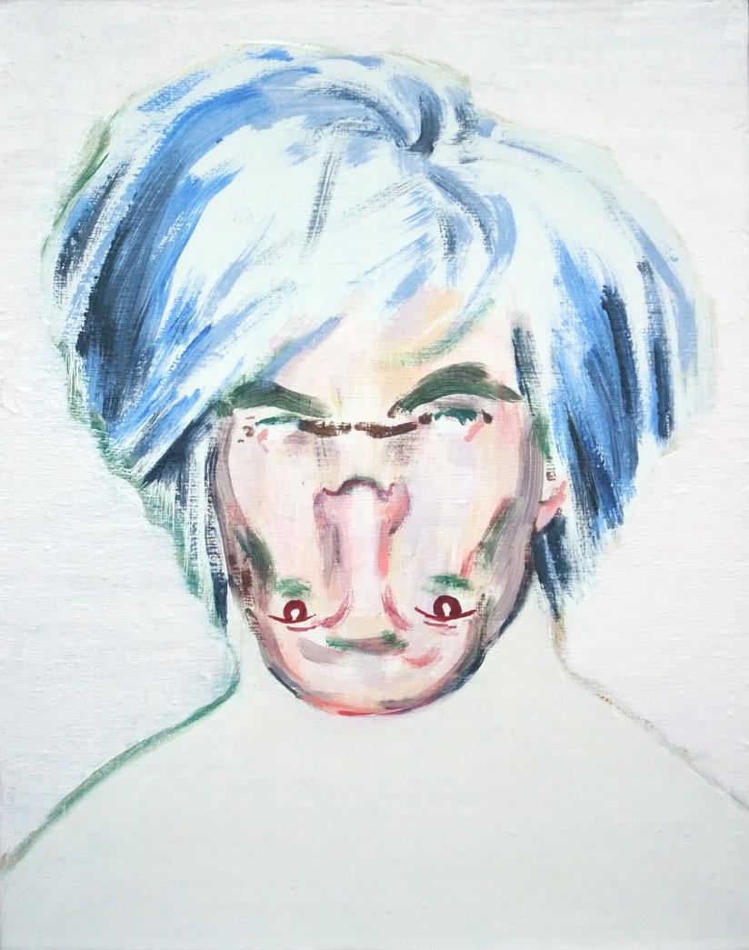 Shockheaded Warhol by Darren Coffiled